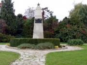 Pomník na počest vojáků Rudé armády